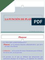 2 La Funcion de La Planeacion