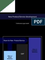 New Product Development - A Behaviour Gap Model