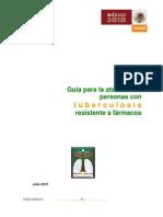Tuberculosis Farmacorresistente