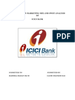 Icici Project on Marketing Mix