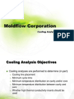MOLDFLOW Cooling Analysis Strategies