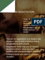 Team Negotiation