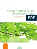 Cisco Product Quick Reference Guide _October_2011