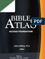 Bible Atlas (Atlasi Biblik) The Biblical & Historical 132 great maps in 199 pages book