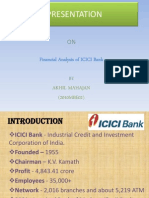 ICICI Financial analysis