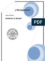 Uniliver in Brazil_essay