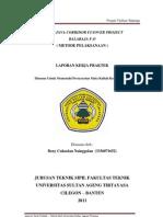 Laporan Kerja Praktek North Java Corridor Flyover Balaraja Fo
