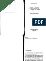 José Morales. Naturaleza de la Teología documento PDF