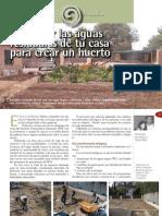 Reutilizar Las Aguas Residuales de Tu Casa Para Crear Un Huerto - Montsant -[Permacultura Bioconstruccion