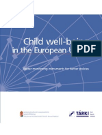 Child Well-being in the European Union - Better monitoring instruments for better policies