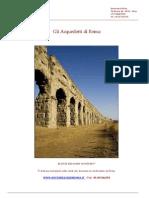 Gli Acquedotti Strorici Di Roma