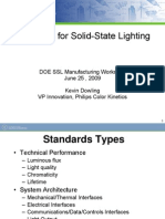 Standards for Solid-State Lighting