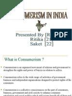 64071027 Consumerism in India PPT