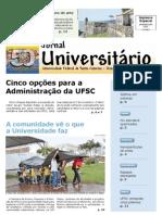 Jornal Universitário UFSC OUTUBRO 2011