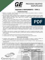 Consulplan_agente de Pesquisas e to - Tipo 3163