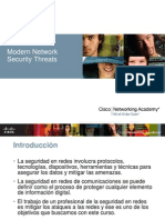 Capitulo 1 Modern Network Security Threats