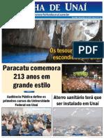 JORNAL FOLHA DE UNAÍ - NOVEMBRO DE 2011