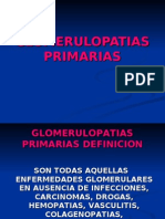 GLOMERULOPATIAS PRIMARIAS -