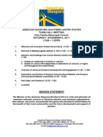 Town Hall Meeting Agenda - 11-5-11