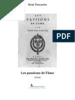 Descartes Passions
