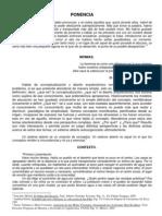 PONENCIA CONCEPTO Y DISEÑO 6 OCTUBRE 2008