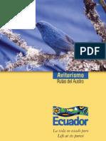 Guia - Aviturismo - Ecuador
