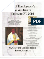 The Mark Of Priestly Bliss (Bulletin Cover)