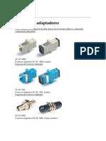 Conectores Adapt Adores Fibra Optica