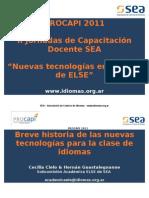 Breve Historia de Las NN TT (Plenario Apertura)