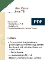 Presentasi Kasus Spondilytis TB
