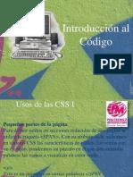 Introduccion a Hojas de Estilo CSS - Codificacion