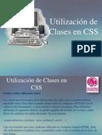 Hojas de Estilo CSS - Utilizacion de clases