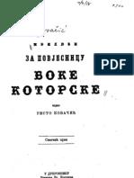 Risto Kovacic - Prilozi Za Povjesnicu Boke Kotorske