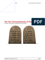 10 Commandments Post Contract