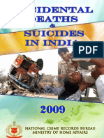 Accidental Deaths & Suicides Report India 2009 (NCRB)