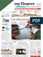 Koran Padang Ekspres   Sabtu, 5 November 2011