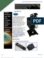 Digitarium Zeta Digital Planetarium System