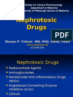 Nephrotoxic Drugs