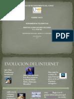 Herramientas Telematicas Evolucion Del Internet