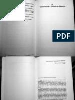 Parte III. Visiones de Ciudad de Mexico./Contiene el INDICE/ CIUDAD, ESPACIO PUBLICO Y CULTURA