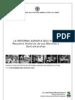 Rojas Calizaya, J.C.-reforma Agraria en Bolivia