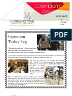 Newsletter - Nov 2011
