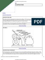 Tech Bulletin 6_ Lathe Mounting Instructions