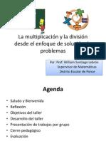 La multiplicación y la división desde el enfoque de solución de problemas -2
