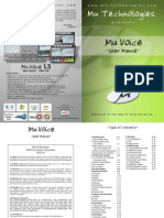 MuVoice Manual 1 3 0