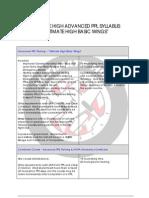 Advanced Ppl Syllabus _ Lesson Plan