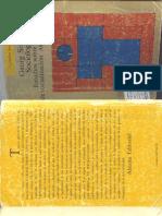 Georg Simmel -Estudios sobre las formas de socializacíon