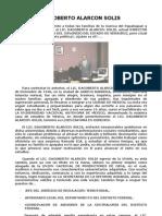 Historia de Dagoberto Alarcon Solis