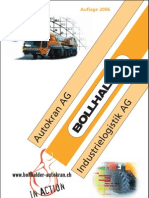 Bollhalder Cranes - Load calculation for choosing the proper crane reported to your load