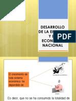 Desarrollo de La Empresa y La Economia Nacional_clase 131011